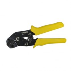 03202 Пресс-клещи для опрессовки изолированных кабельных наконечников (трапеция) 0.25-6 кв.мм