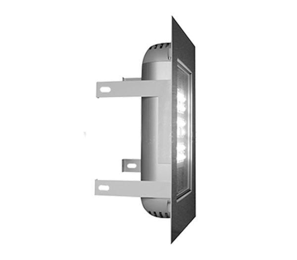 Встраиваемый уличный светодиодный светильник ДВУ 01-80-50-Д110 1