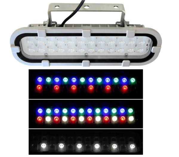 Архитектурный светодиодный светильник FWL 12-26-RGBW-D60 1