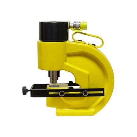 02017 Шинный перфоратор с автоматическим прижимом шины и параллельным упором ШП-110АП+ 2