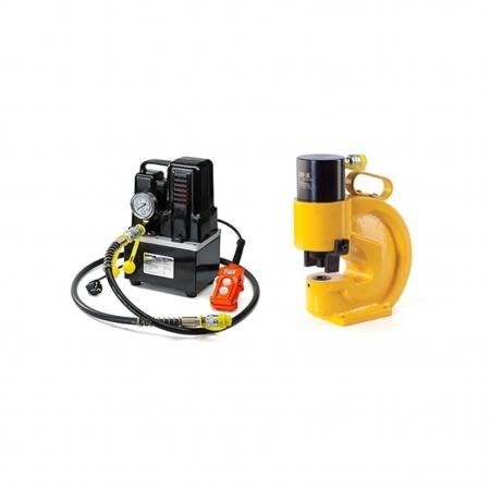 02208 Комплект для перфорации токоведущей шины СНГ + ШП-110/12+